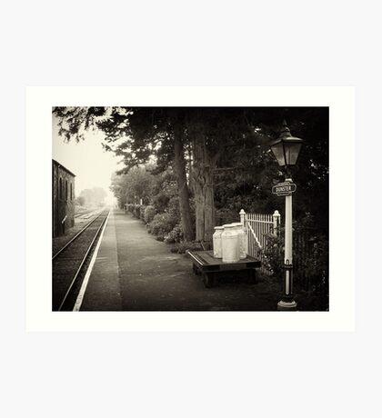 West Somerset Railway Art Print