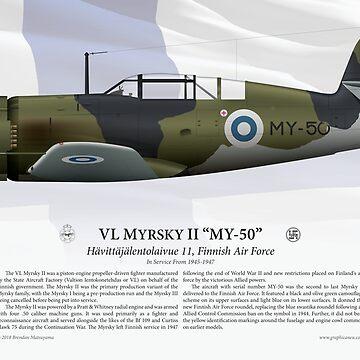 """VL Myrsky II """"MY-50"""" - Finnish Air Force by nothinguntried"""