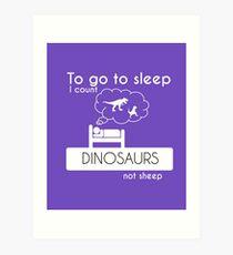 Funny Dinosaur Lover Shirt Gift For Men Women Art Print