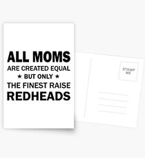 all moms are created equal but only the finest raise hip hop t-shirts Postcards