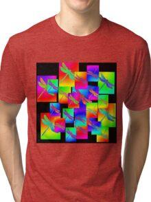 dragonfly circus Tri-blend T-Shirt
