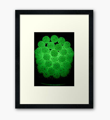 Bubble, Bubble Toil 'n' Trubble Framed Print