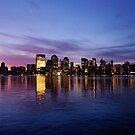 Manhattan Dawn by Peter Bellamy