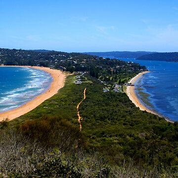 Tombolo - Palm Beach - Sydney - Australia by BryanFreeman