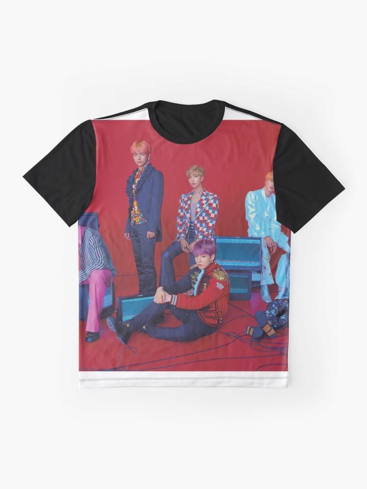 Alternative Ansicht von BTS liebe dich selbst Grafik T-Shirt