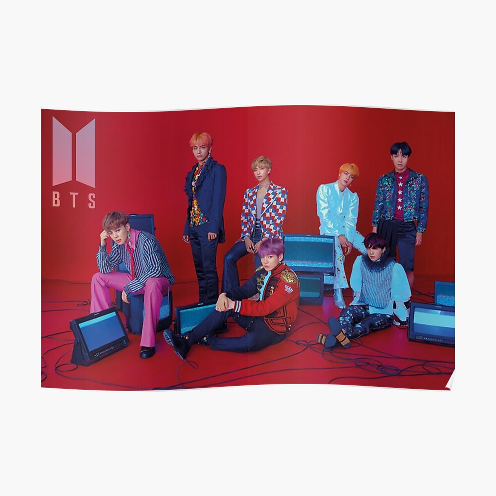 BTS liebe dich selbst Poster