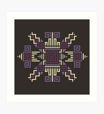 Cyber Hopi 6 Art Print