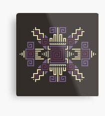 Cyber Hopi 6 Metal Print