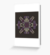 Cyber Hopi 6 Greeting Card