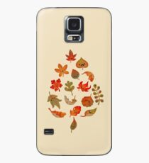 Sad fallen leaves Case/Skin for Samsung Galaxy