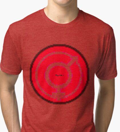 Love Symbol 10 by RootCat Tri-blend T-Shirt