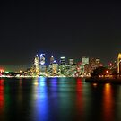Sydney At Night - HDR by Bryan Freeman