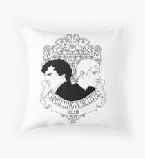 Consulting Detectives Throw Pillow