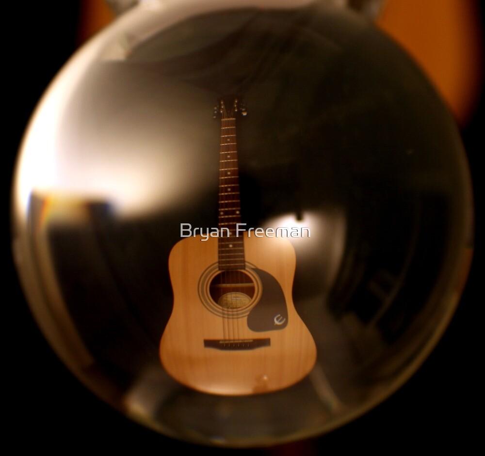 Bubble Guitar by Bryan Freeman