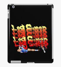 Street Fighter 2:  Leg Sweep Edition iPad Case/Skin