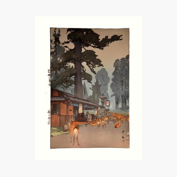 Way To Kasuga Shrine 1938 Hiroshi Yoshida Japanese Art Art Print