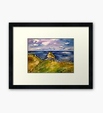 Canon Beach Framed Print