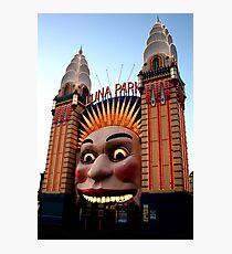 Luna Park - Sydney - Australia Photographic Print