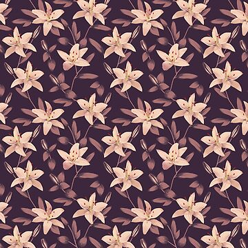 Lilies Pattern by lents