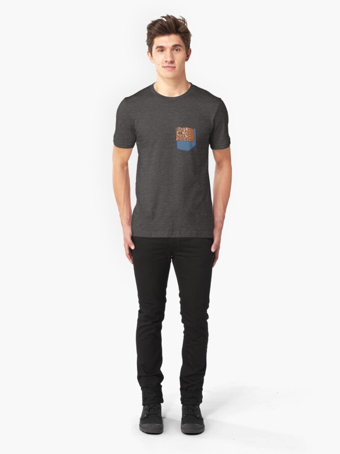 Alternate view of Hanky Code - Cowboy Slim Fit T-Shirt