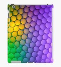 Straws of the Rainbow  iPad Case/Skin