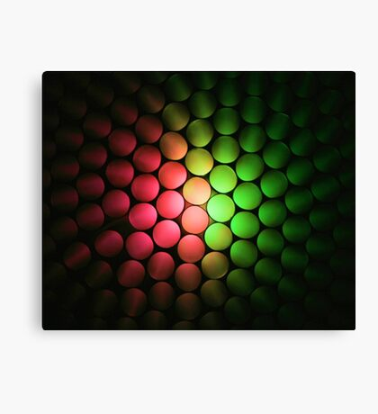 Red & Green Should Never Be Seen - Abstract Canvas Print