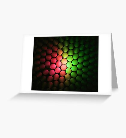 Red & Green Should Never Be Seen - Abstract Greeting Card