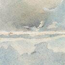 watercolor sea by Valentina Zampedri