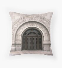 Natatorium - Jiangwan Sports Complex - Shanghai, China Throw Pillow