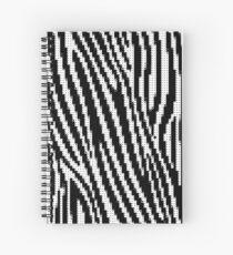 Zebra Glitch Spiralblock