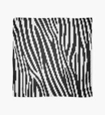Zebra Glitch Tuch