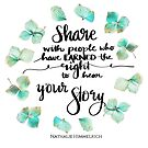 Share Your Story by Nathalie Himmelrich