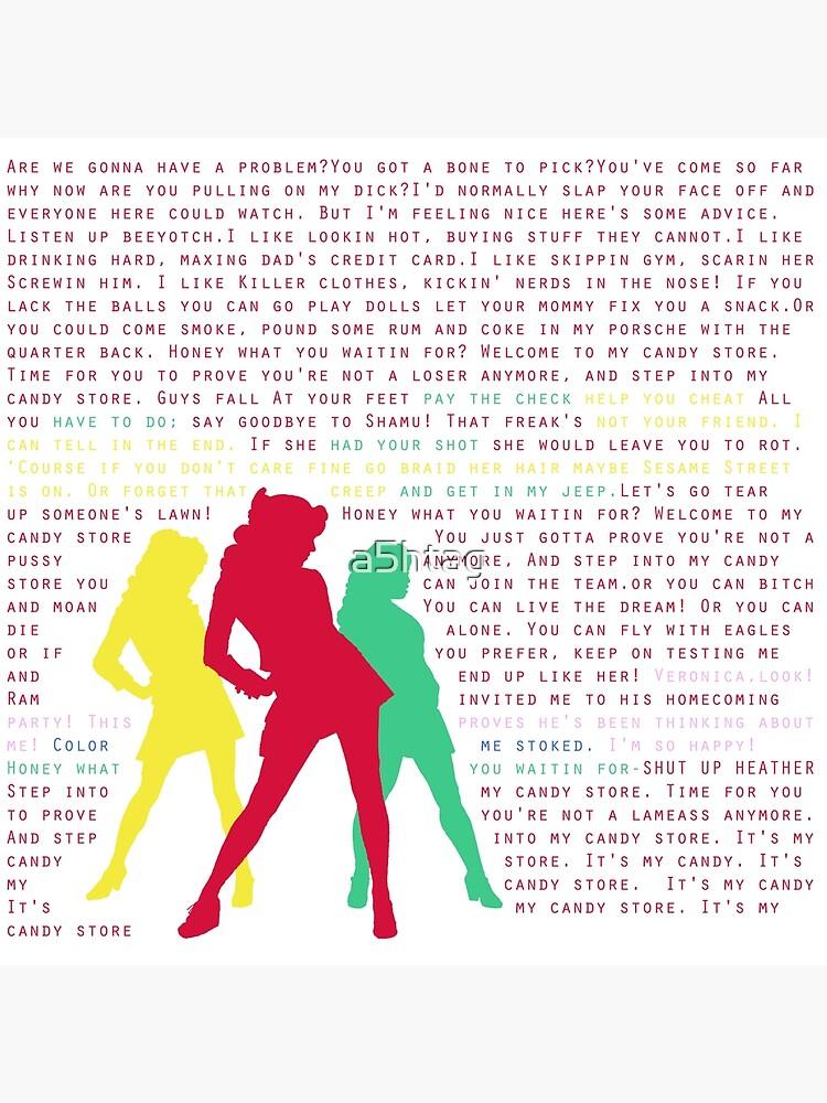 Candy Store-Heathers: Das Musical von a5htag