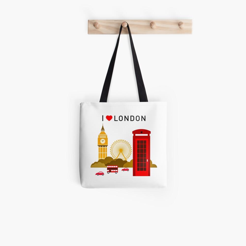 Ich liebe London Tote Bag