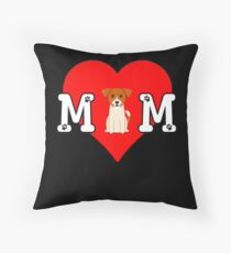 Jack Russel Terrier Mom - Gift For Jack Russel Terrier Mom Dog Owner Throw Pillow