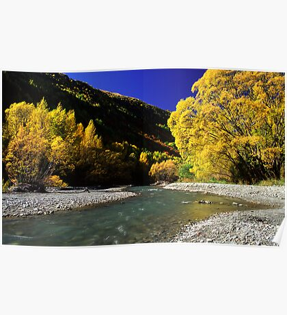 Autumn colours, Arrowtown Poster