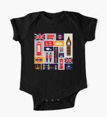 London Baby Body Kurzarm