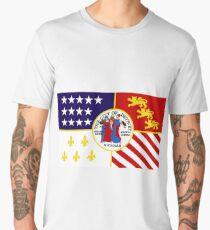 Flag of Detroit (1976–2000) | United States Men's Premium T-Shirt