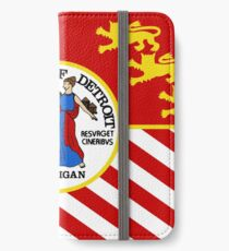 Flag of Detroit (1976–2000) | United States iPhone Wallet/Case/Skin