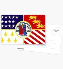 Flag of Detroit (1976–2000) | United States Postcards