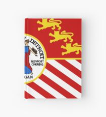 Flag of Detroit (1976–2000) | United States Hardcover Journal