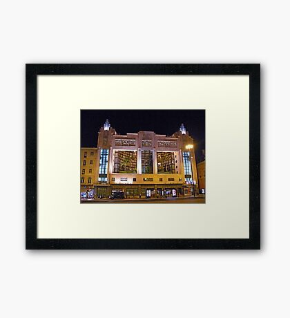 Eden Theatre Framed Print
