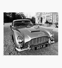James Bond's Aston Martin, Used in Movie Photographic Print