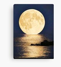 Supermoon 2016 Canvas Print