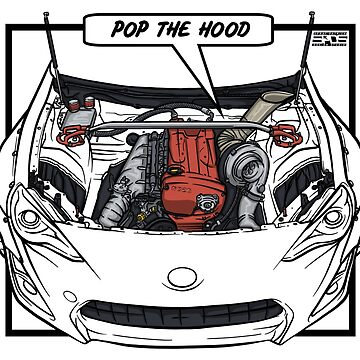 Pop The Hood (RB26) by SprayPatrick