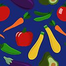 Healthy Veggies by Pamela Maxwell