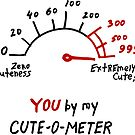 You by my Cute-o-Meter by Julia Syrykh