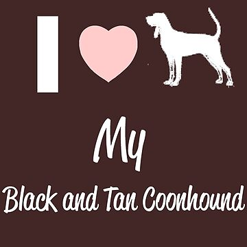Black and Tan Coonhound by KennethMoore