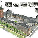 Königsberg Castle in detail by edsimoneit