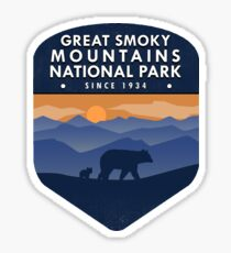 Great Smoky Mountains National Park 4 Sticker
